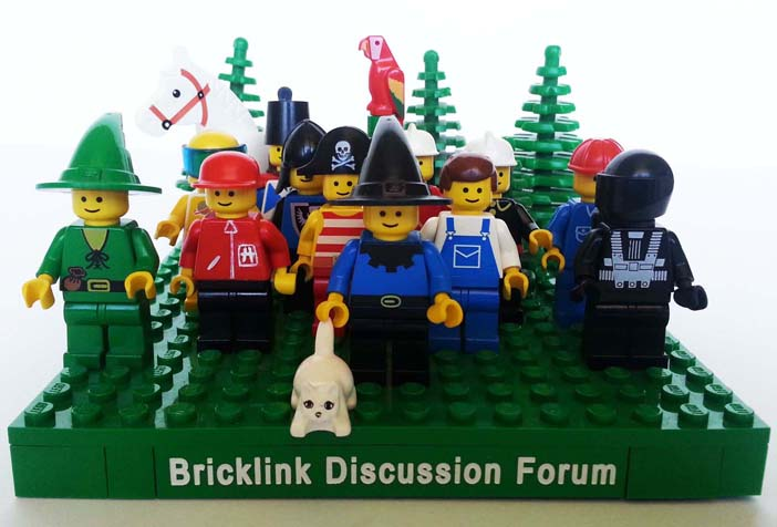 Dan's forum icon in LEGO