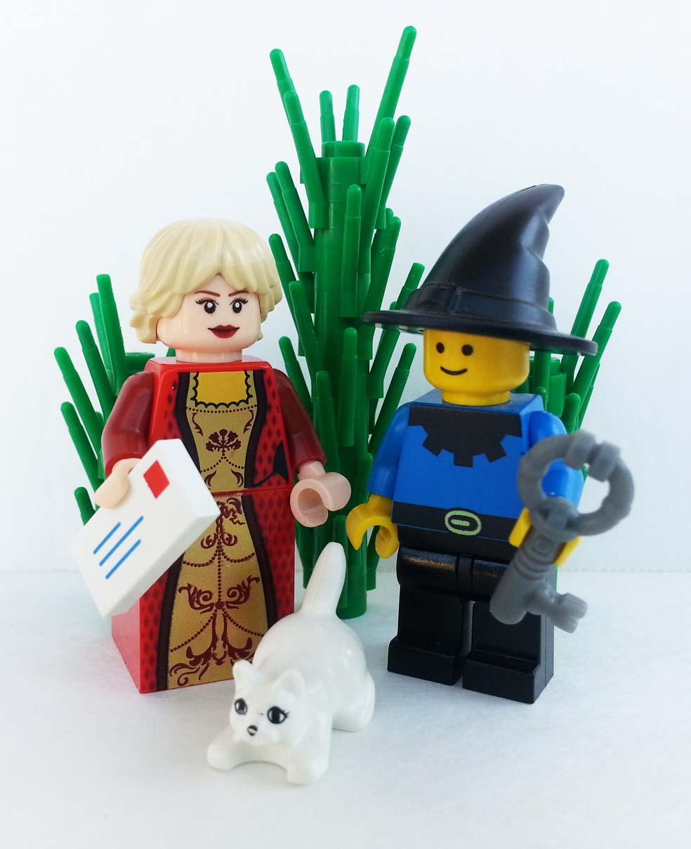 LEGO of Daniel and his mother.
