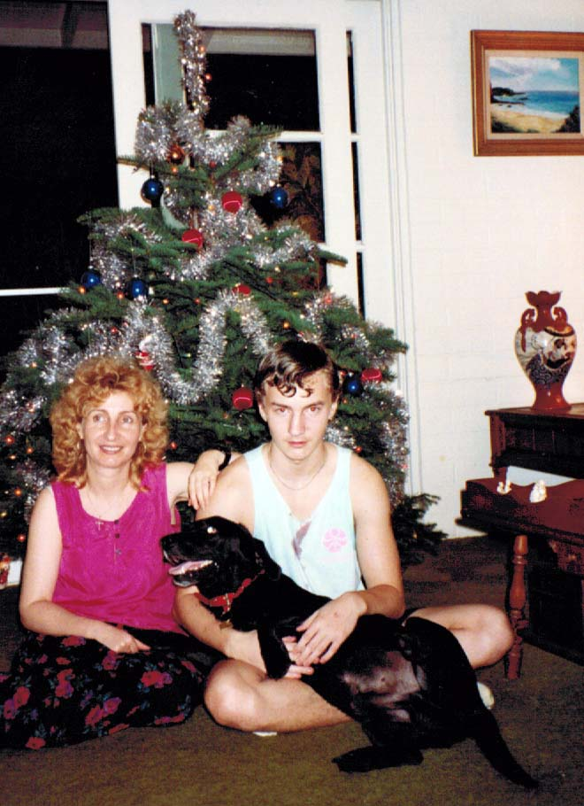 Christmas 1993 in Hawaii