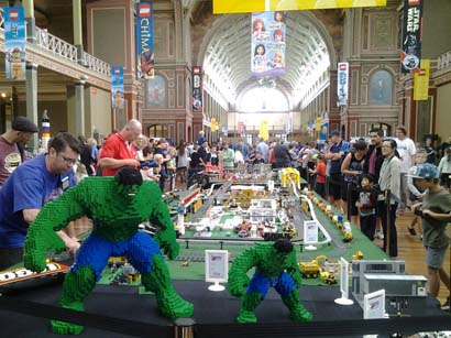 Brickvention in Melbourne