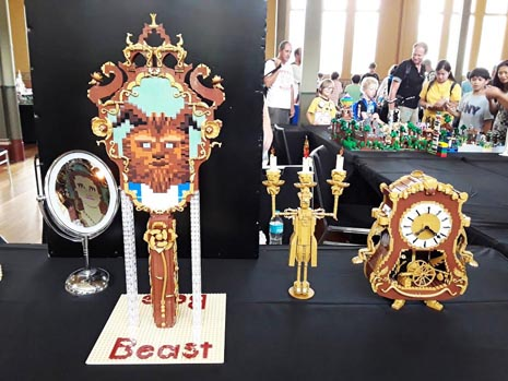 Beuty and the Beast MOC