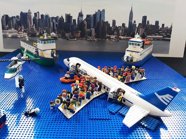 Miracle on the Hudson MOC
