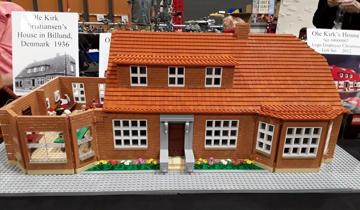 A personal MOC riff on the 1936 Ole Kirk Christensen house