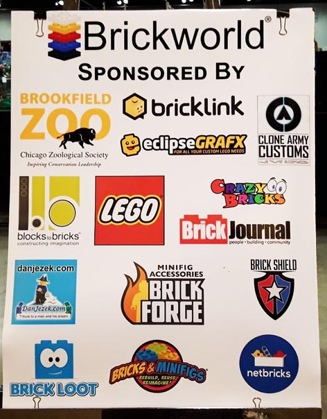 List of Brickworld sponsors