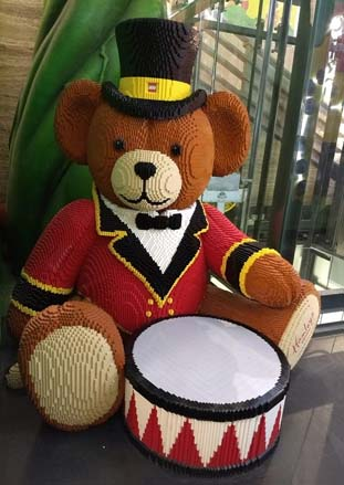 Bear with us while Bruno plays the drum