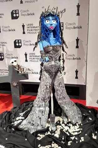The movie character Corpsebride