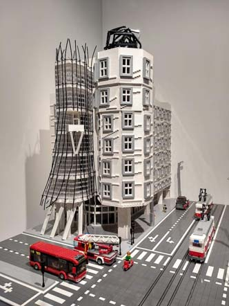 Dancing House is one of Prague's most famous modern monuments